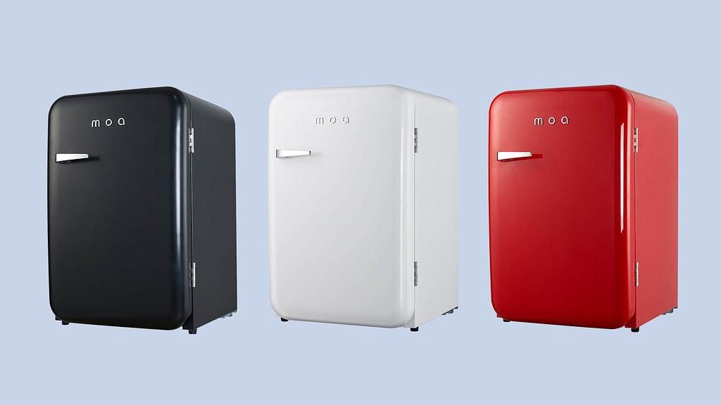 Tafelmodel koelkast retro